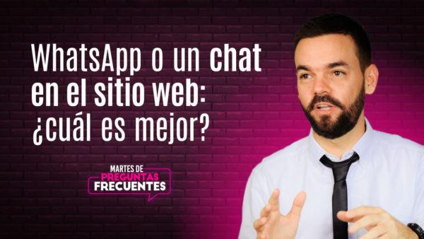 WhatsApp Business o chat: ¿cuál es la mejor opción? Discutamos sobre las opciones de mensajería que tienen los negocios para su sitio web: WhatsApp Business o chat. Revisemos sus ventajas y desventajas. WhatsApp o un chat en el sitio web: ¿cuál es mejor?